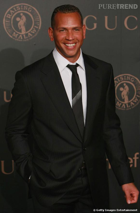 Le joueur de baseball Alex Rodriguez, ex de Madonna mais aussi de Cameron Diaz.