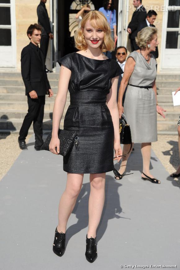 Deborah François chez Dior.