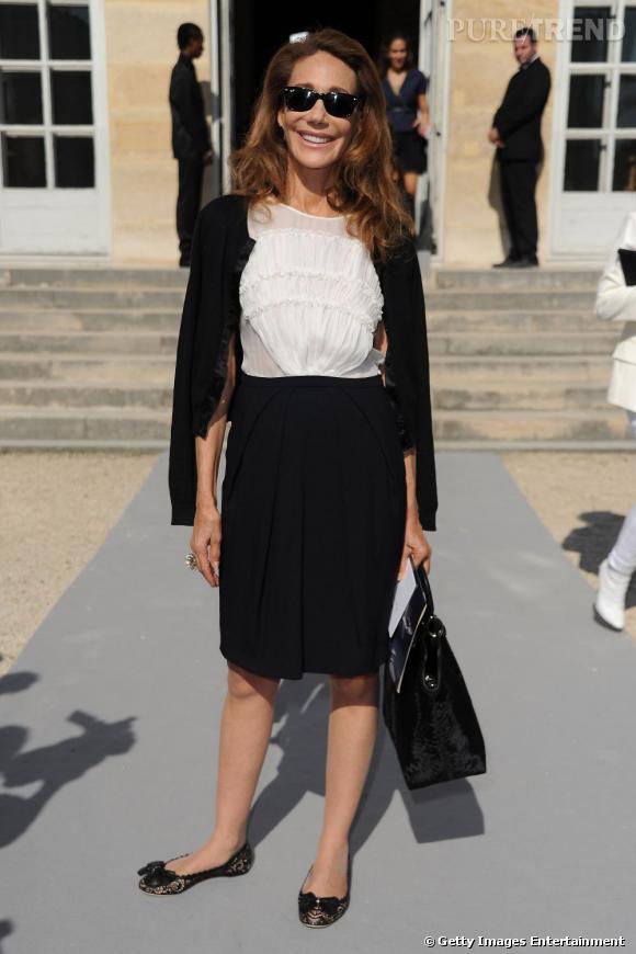 Marisa Berenson chez Dior.