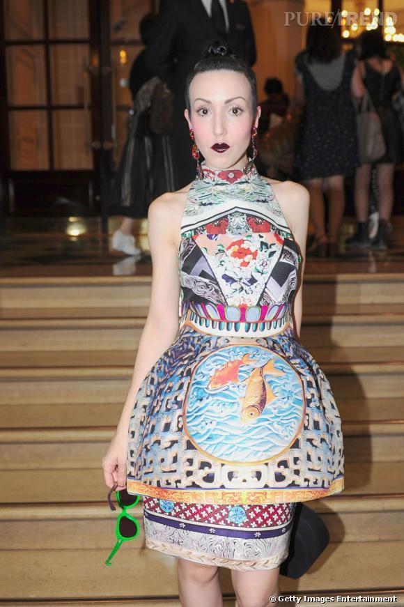 Michelle Harper chez Vivienne Westwood.