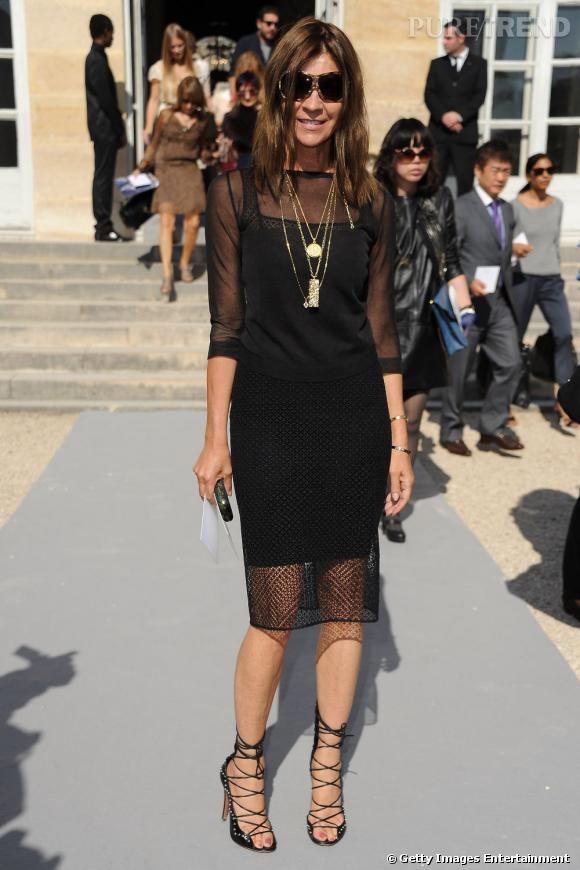 Carine Roitfeld chez Dior.