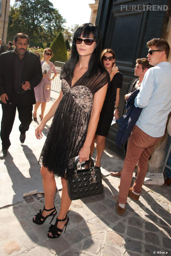 Leigh Lezark chez Dior.