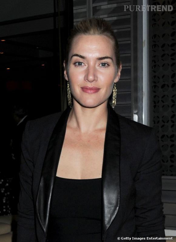 """Kate Winslet à la soirée """"Made In Sicily"""" à Londres."""