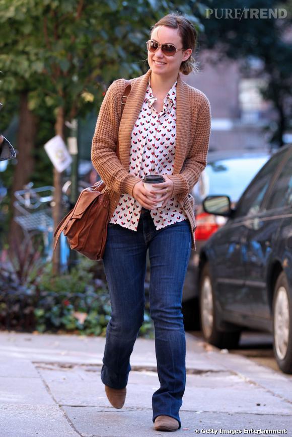Olivia Wilde dans les rues de New York.