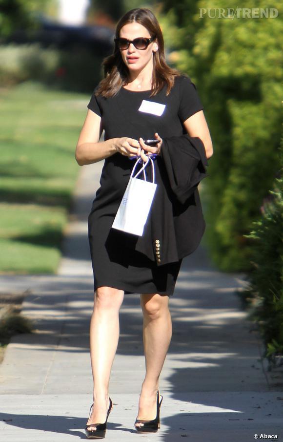 Jennifer Garner en balade dans les rues de Brentwood.