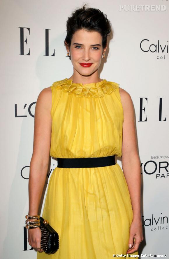 Cobie Smulders à la soirée Elle Women In Hollywood 2011.