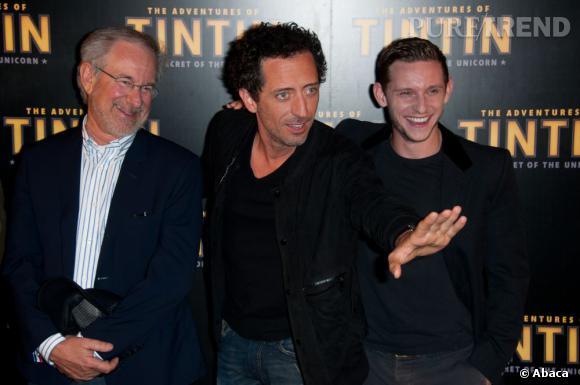 """Jamie Bell a succombé aux charme de Gad Elmaleh alias Ben Salaad dans """"Les Aventures de Tintin"""", film d'animation signé Spielberg."""