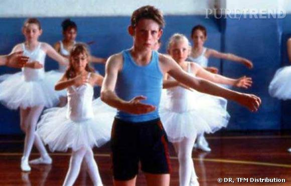 Jamie Bell dans le rôle de Billy Elliot. Dans la vie, il est passionné de danse depuis l'âge de 6 ans.