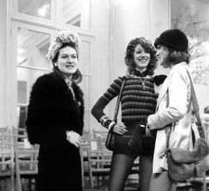 Paloma Picasso, Marisa Berenson et Loulou de la Falaise
