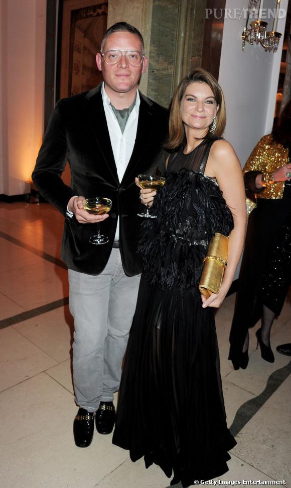 Giles Deacon et Natalie Massenet