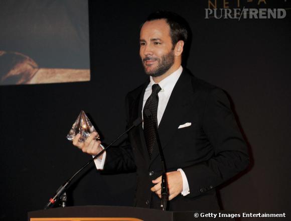 """Tom Ford a été récompensée par la gent féminine avec le prix de l'""""Homme le plus adulé par les femmes""""."""