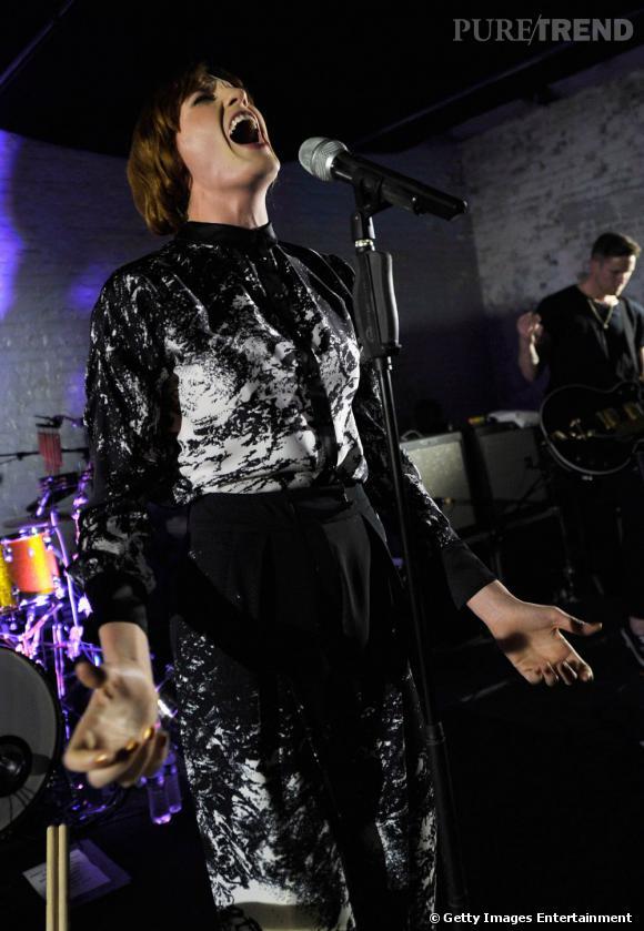 Florence Welch en total look Antonio Berardi.