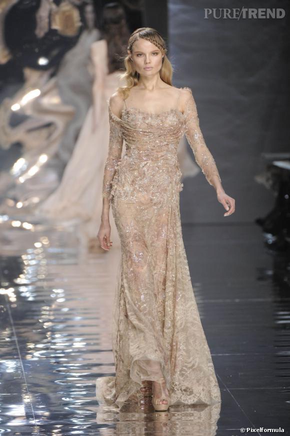 Défilé Elie Saab Haute Couture printemps-été 2010.