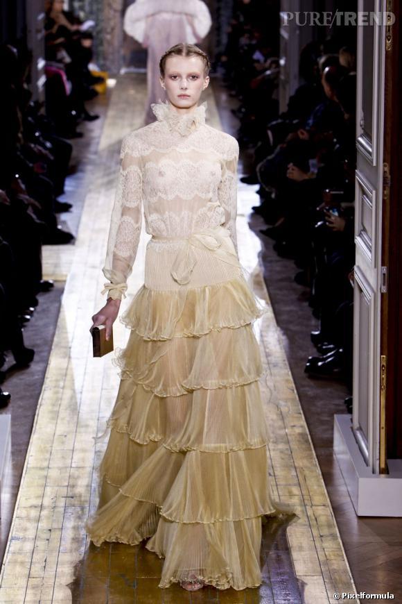 Défilé Valentino Haute Couture printemps-été 2011.
