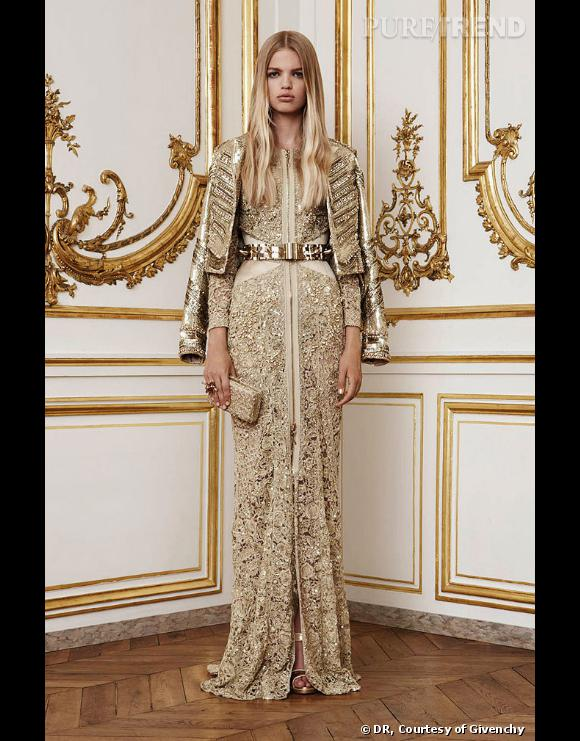 Collection Givenchy Couture automne-hiver 2010-2011.