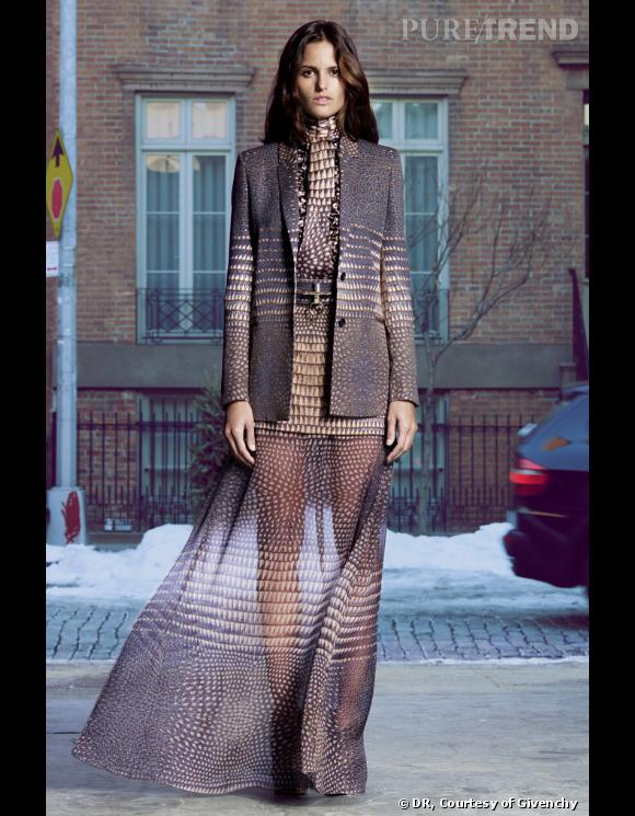 Collection Givenchy Pre-fall 2011.