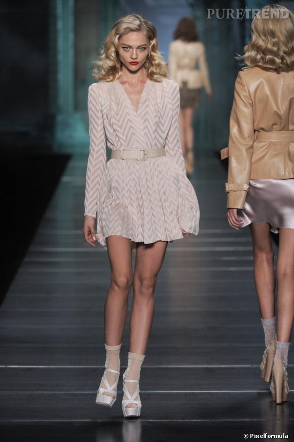 Défilé Christian Dior printemps-été 2010.