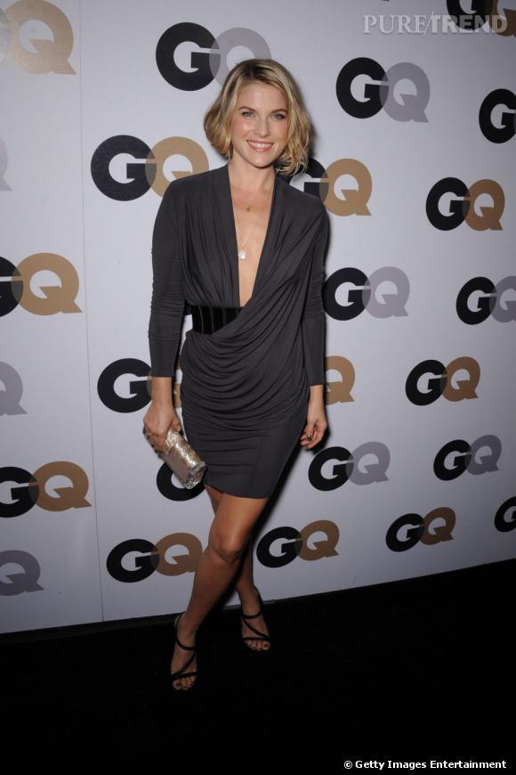 Ali Larter lors de la soirée GQ Men of the Year à Los Angeles.