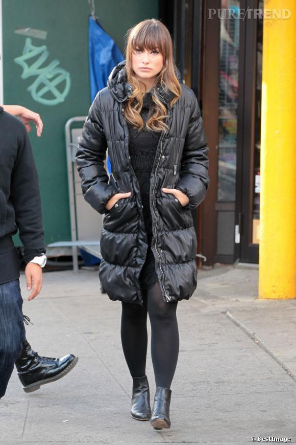 Olivia Wilde en balade dans les rues de New York.