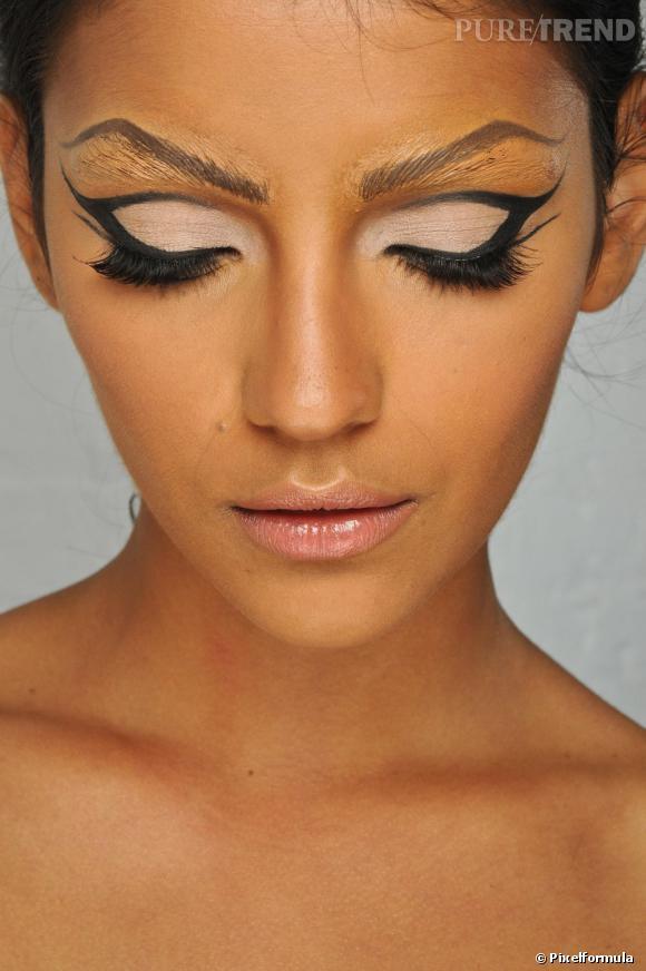Maquillage de f tes en avant les faux cils pour les f tes la paupi re se fait papillon - Maquillage pour les fetes ...