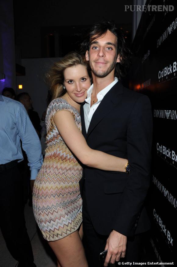 Miami Art Basel   Mais qui est cette femme habillée en Missoni dans les bras de Vladimir Roitfeld ?
