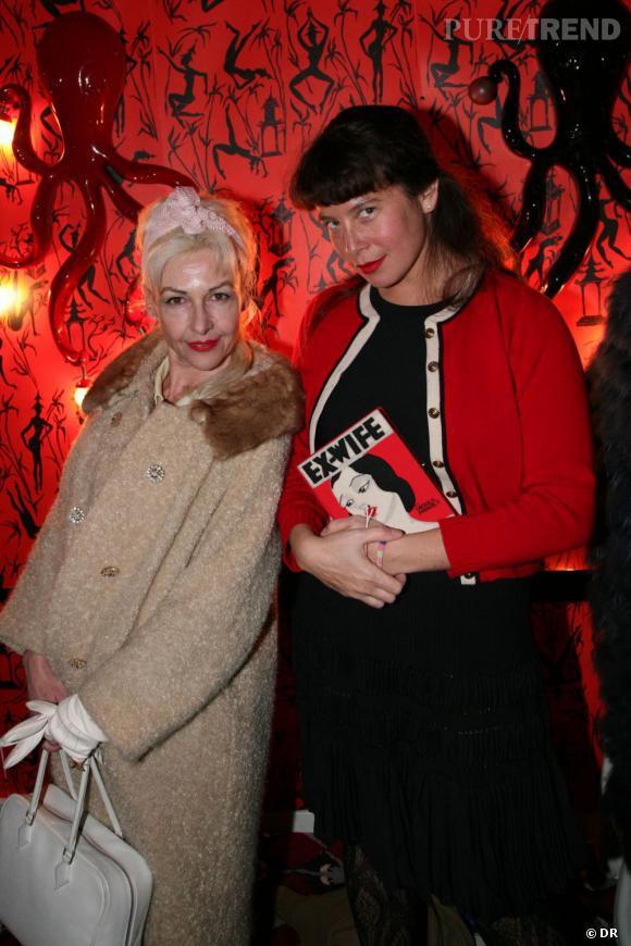 Fifi Chachnil & Olympia Le-Tan