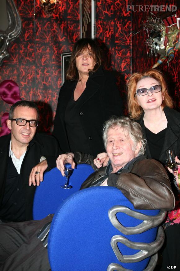 Charles dantzig, Ingrid Caven & Jean Jacques Schulz