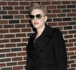 Scarlett Johansson, le chignon mamie