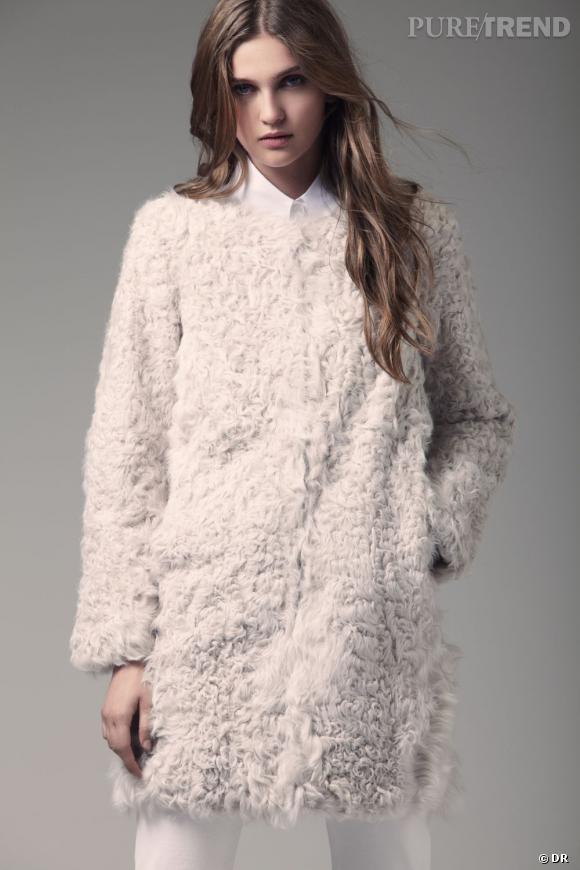 Zoom sur le mouton !     Collection  Pablo  de Gérard Darel Automne-Hiver 2011/2012