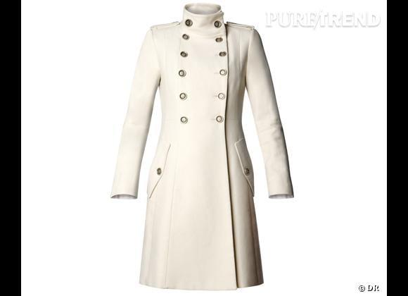 Manteau femme style officier militaire