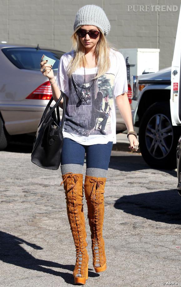 Ashley Tisdale nous laisse sans voix.