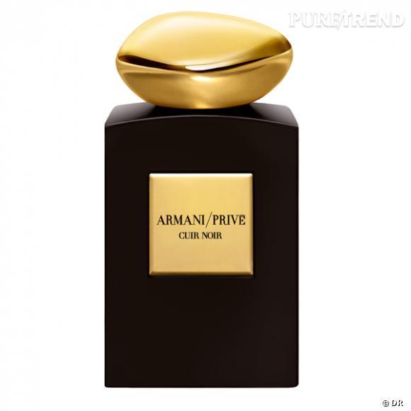 """Parfum """"Cuir Noir"""", Collection 1001 Nuits, Armani Privé         Prix : 205€"""