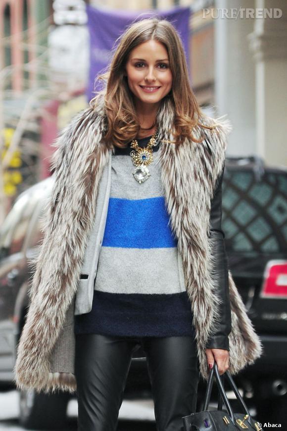 Olivia Palermo, leçon de style à New York.