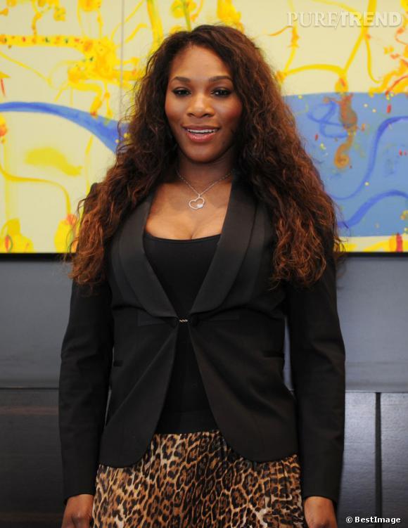 Serena Williams à l'hôtel Olsen à Melbourne.