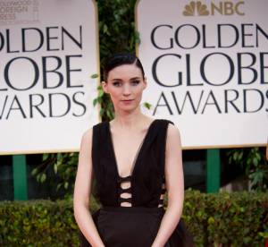 Golden Globes 2012 : Rooney Mara, sa premiere fois