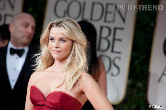 Reese Witherspoon à la cérémonie des Golden Globes 2012.