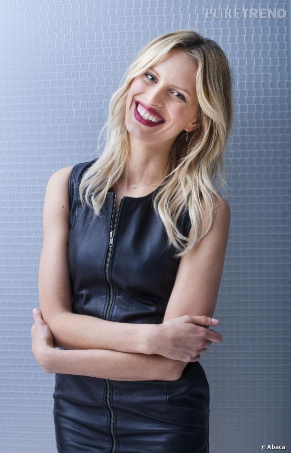 """Karolina Kurkova lors d'un photocall pour la nouvelle émission allemande : """"The Perfect Model""""."""