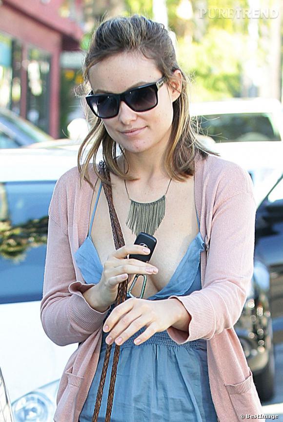 Olivia Wilde de sortie dans les rues de Los Angeles.