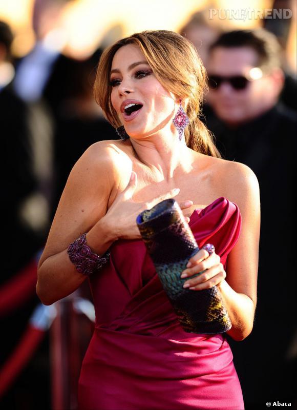 Sofia Vergara aux Screen Actors Guild Awards à Los Angeles.