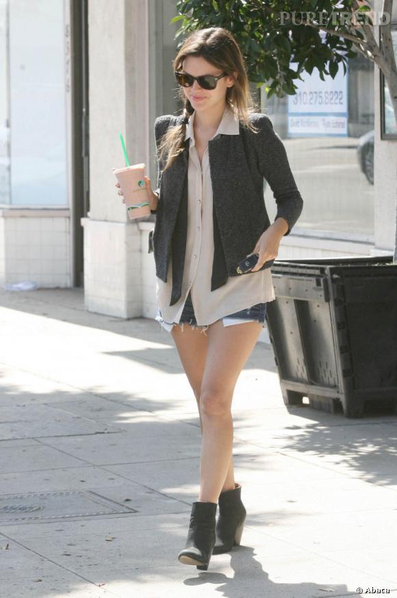 Pour un couple plus fashion, la jolie Rachel Bilson se présente comme une évidence.