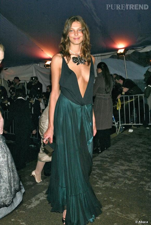 Fin 2004, le top Daria Werbowy lui fait tourner la tête.