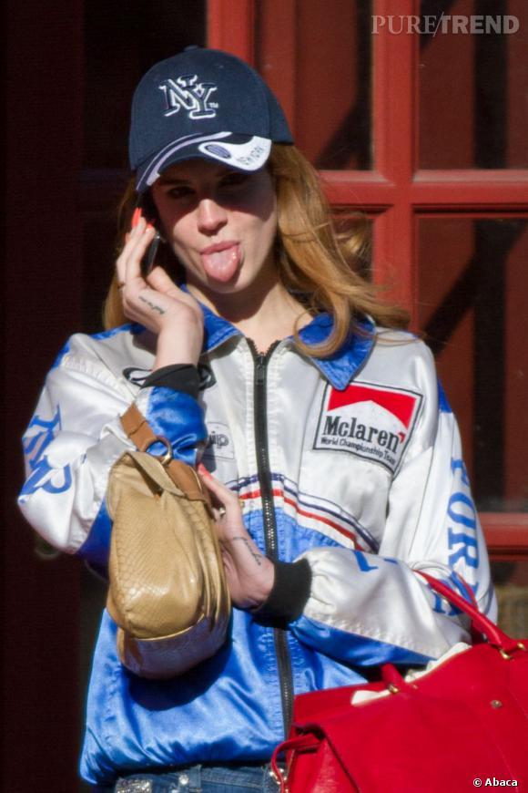 Lana Del Rey dans les rues de New York.