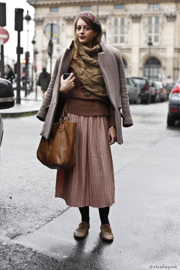 Avec style plusieurs couches tu multiplieras   Top + pull + snood + manteau : opter pour un look multicouches n'est pas une fatalité, surtout si l'on se lance dans le ton sur ton.