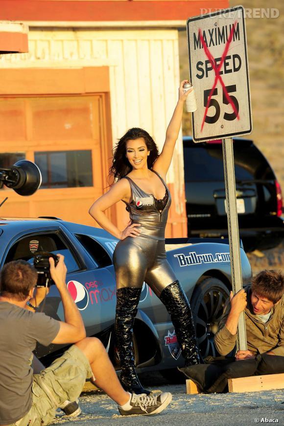 Kim Kardashian au sommet de son art.