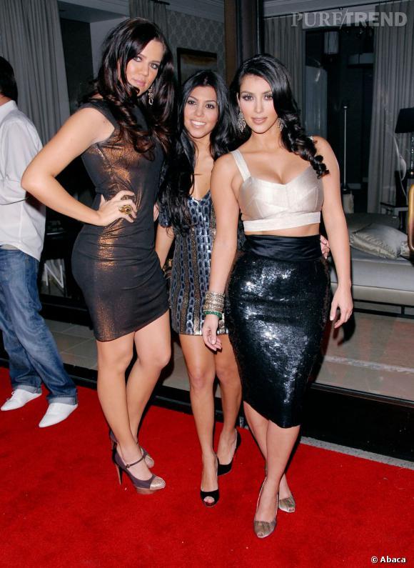 Incontestablement, les soeurs Kardashian partagent le même goût pour le glitter.