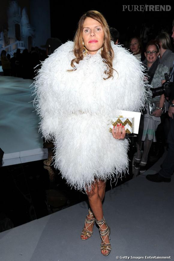 Anna Dello Russo sait comment ne pas passer inaperçue chez Marc Jacobs.