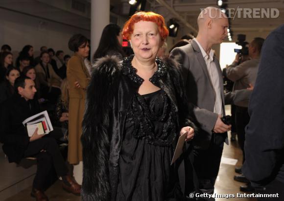 La rédactrice mode Lynn Yaeger chez Ohne Titel.