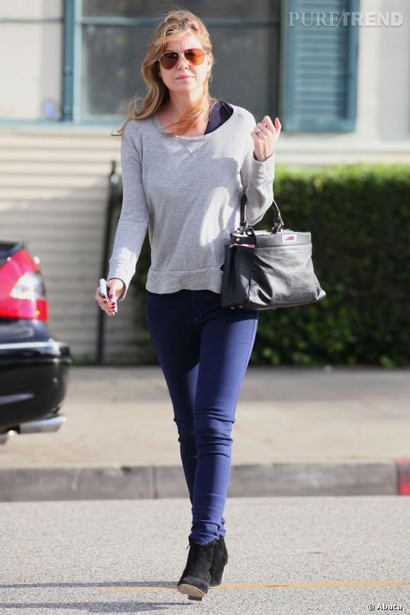 Ellen Pompeo préfère un bon look casual plutôt que des tenues de tapis rouge.