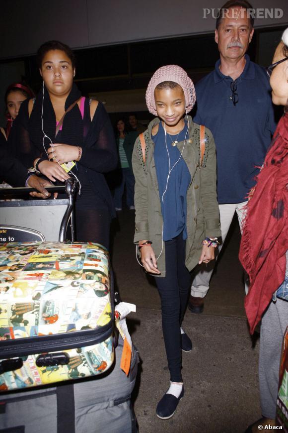 Willow Smith enfin habillée comme les enfants de son âge.