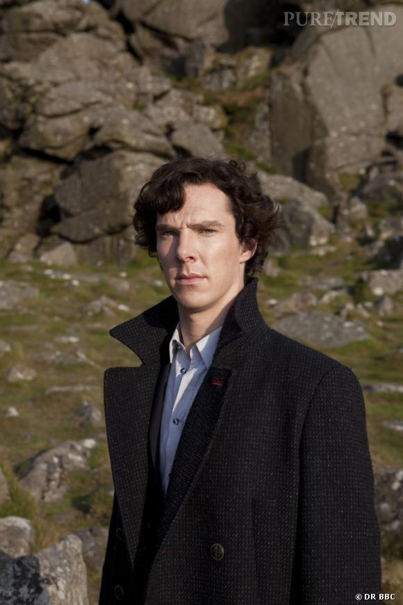 Benedict Cumberbatch dans le rôle de Sherlock Holmes sur les chaines anglaises.